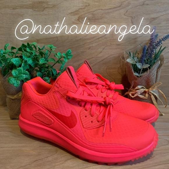 bafd98a921 Nike Shoes | Air Zoom 90 It Golf Solar Red | Poshmark